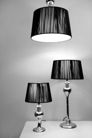 Modern style lighting Stock Photo