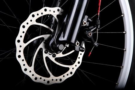 Disco de freno de bicicletas Foto de archivo