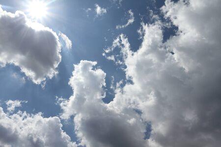 Cielo nublado Foto de archivo