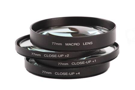 Macro y cerrar lentes
