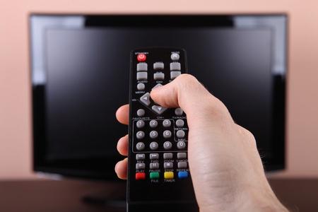 Encendido de la TV con mando a distancia
