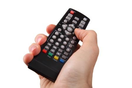 Control remoto del televisor