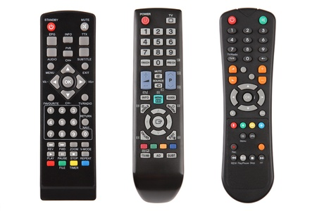 Televisor con control remoto