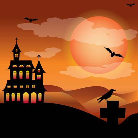 dreadful: mansion Halloween