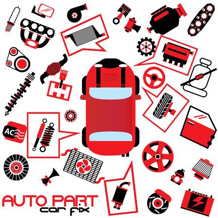 car fix Illustration