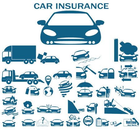 hailstorm: Icons for ca insurance