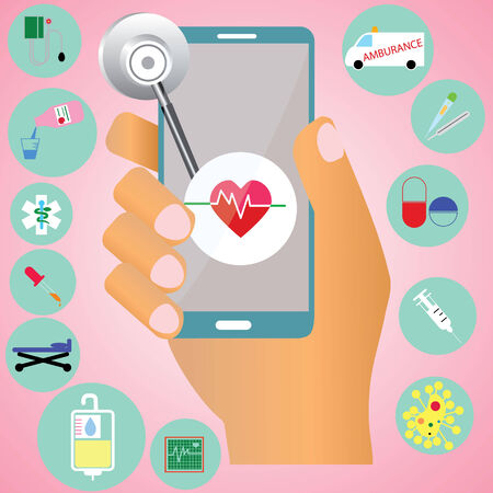 bpm: Smart phone and application for heltcare