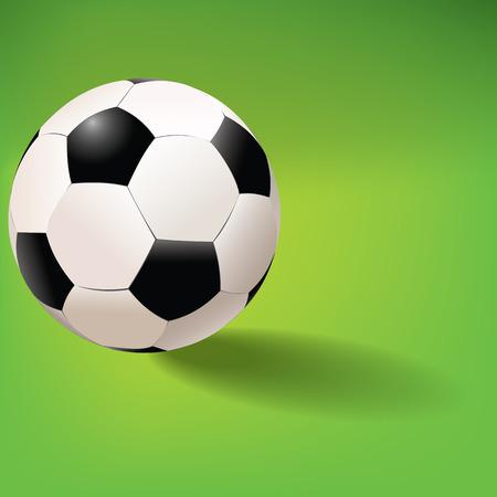 terrain de foot: le football dans le style vectoriel Illustration