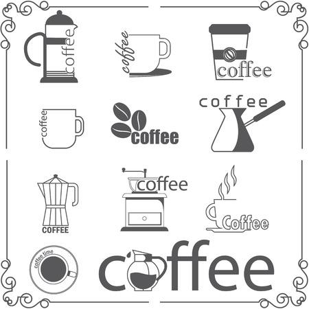 Coffee shop style Illustration