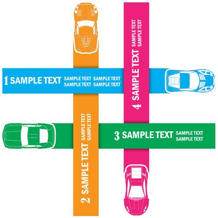 harmonization: Chart racing  car straight trajectory harmonization as a template to your theory vector.