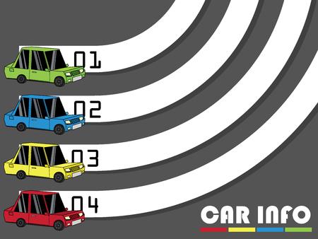 curve road: Curve bar template.