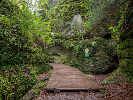 Dragoncanyon in the Thuringian Forest