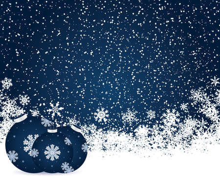 Christmas decoration background with space for text Stock Vector - 8412447