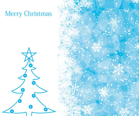Christmas decoration background with space for text Stock Vector - 8412468