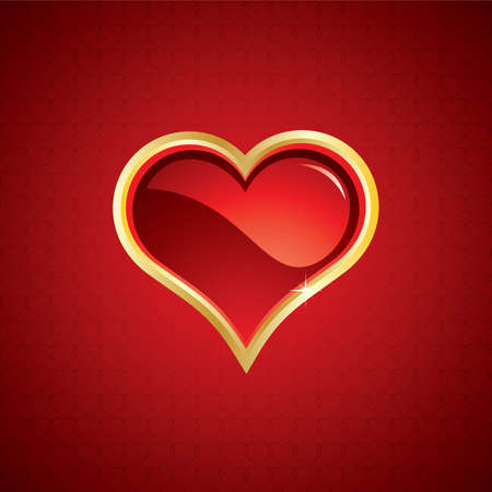 Beautiful abstract Valentines Day background Vector