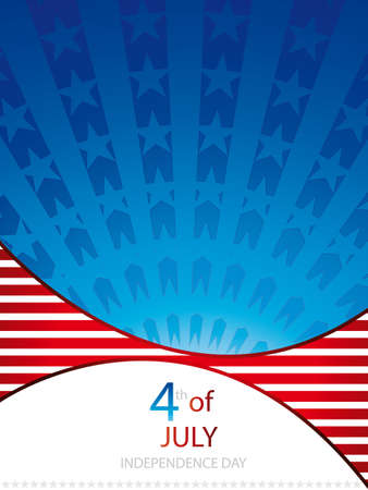 independence day background.Vector Stock Vector - 9616507
