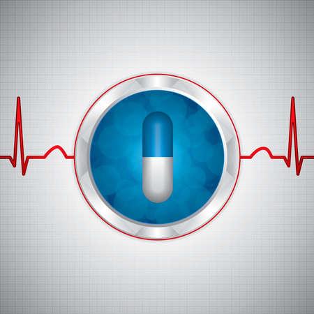 Alternative medication concept  Vector