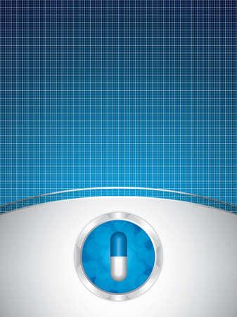 Alternative medication concept. Illustration