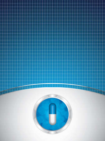 Alternative medication concept. Vector