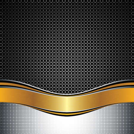 illuminate: Abstract golden background - vector illustration