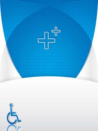 emergencia medica: Personas de movilidad reducida plantilla de m�dicos de apoyo