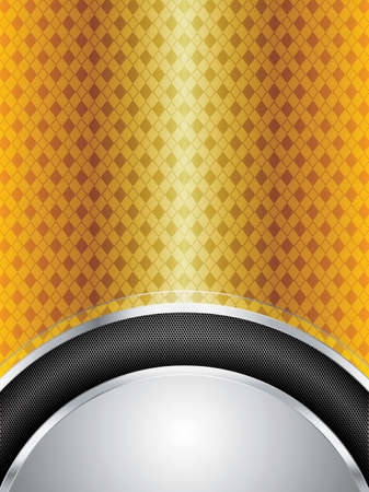Abstract golden background - vector illustration Stock Vector - 12775897