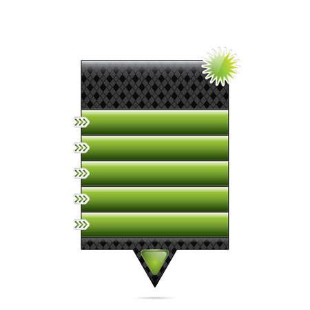 Vector internet advertising web box Stock Vector - 12839144