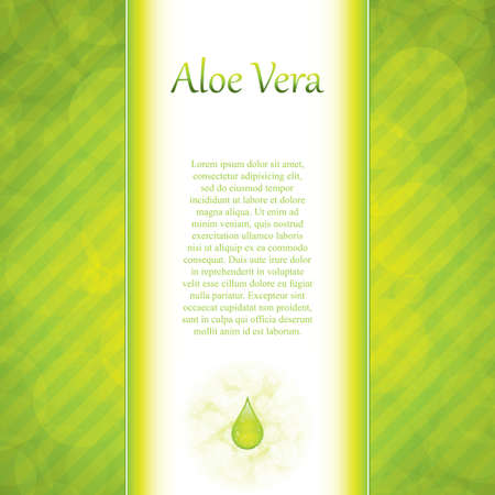 Aloe Vera concept design Stock Vector - 13001160