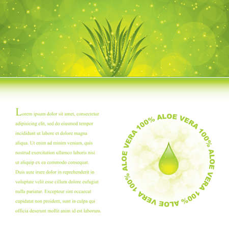 aloe: Aloe Vera concept design