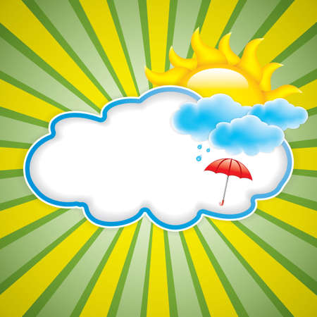 day forecast: Sun with cloud
