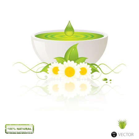 Aloe Vera Gel Tropfen Alternative Medizin