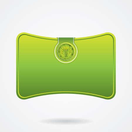 Aloe Vera banner Stock Vector - 14122640