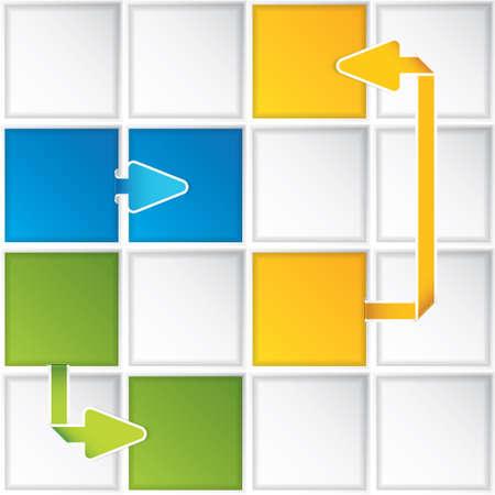 Presentation Template Business vector Stock Vector - 14540409