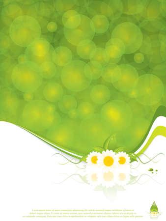 aloe vera background: Aloe Vera concept design vector