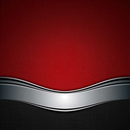 Abstract background, metallic red brochure, vector Stock Vector - 15046068