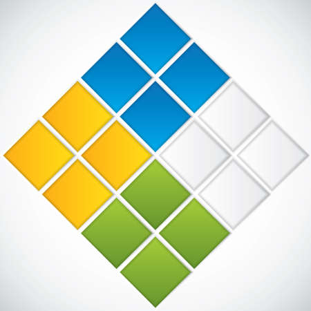 Presentation Template Business vector Stock Vector - 15046069