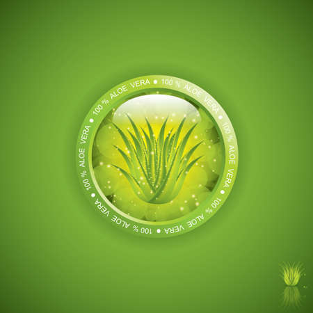 aloe vera: Aloe Vera sticker