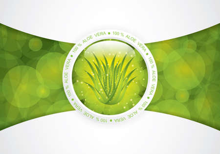 Aloe Vera concept design Stock Vector - 15450954