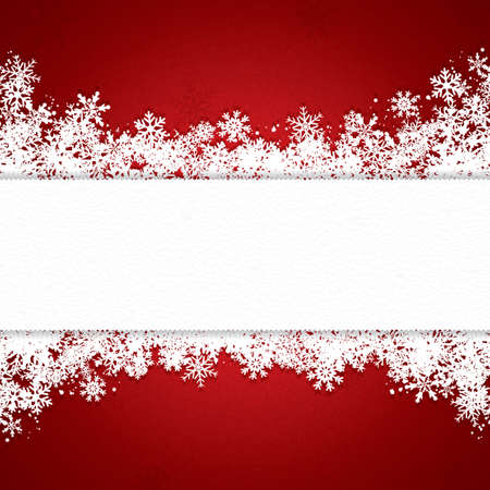 Christmas decoration background with space for text Vector
