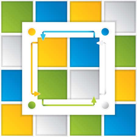 Presentation Template Business Stock Vector - 15774541