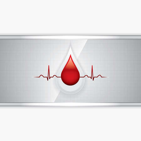 blood donation: Blood donation vector Medical background Illustration