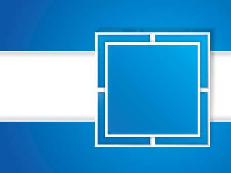 Clean futuristic vector design template Brochure Vector