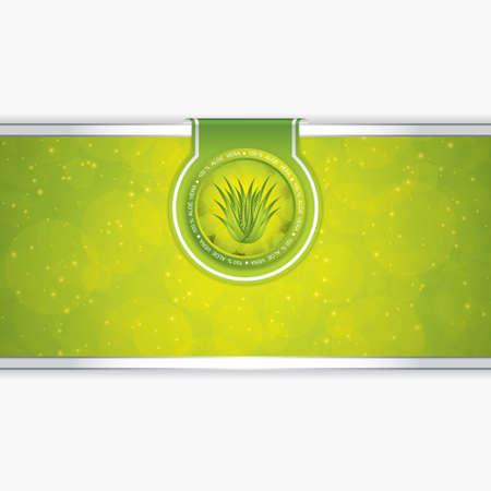 Aloe Vera concept design Stock Vector - 16298149