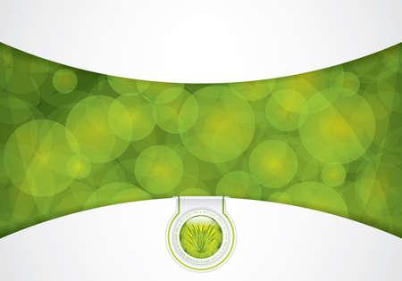 Aloe Vera concept design Vector