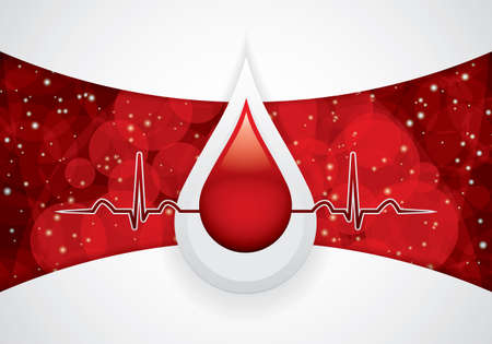 blood drops: Blood donation  Medical background