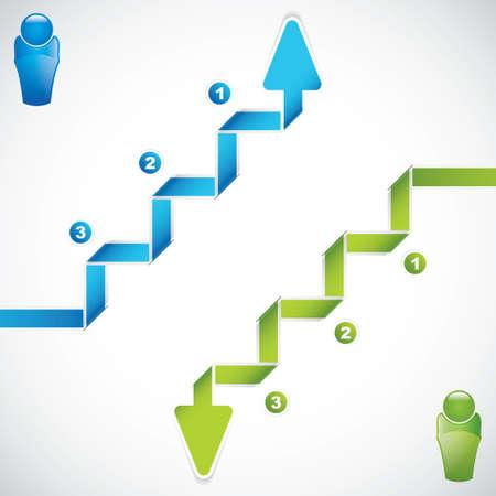 Finanzierung Konzept Business Illustration