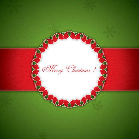 heard: Christmas gift box background
