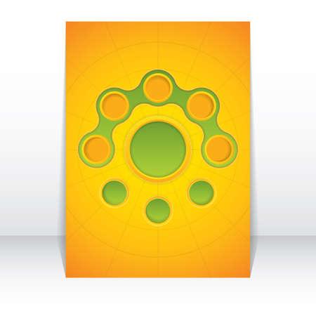 Abstract web design bubble Stock Vector - 16641721