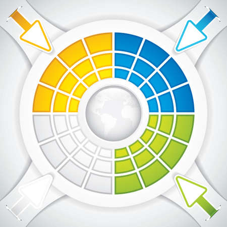 Presentation Template Business Stock Vector - 16787590