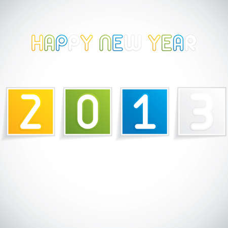 Happy New Year vector Stock Vector - 16884862